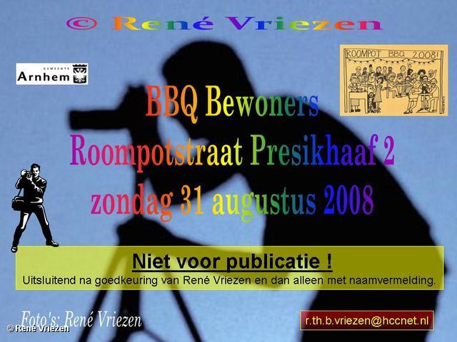 © René Vriezen 2008-08-31 #0000 BBQ Bewoners Roompotstraat Presikhaaf 2 zo 31 augustus 2008