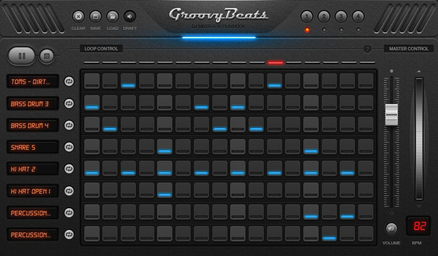 Mix like a DJ with Groovy Beats- FREE DJ Mixer for PlayBook
