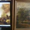 Technique Comparison - John Constable Painting (17...