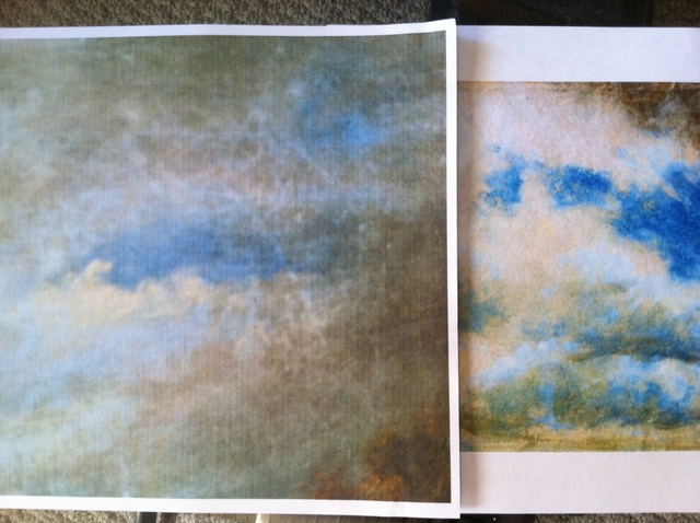 Constable Comparison's John Constable Painting (1776-1837) Oil on Canvas