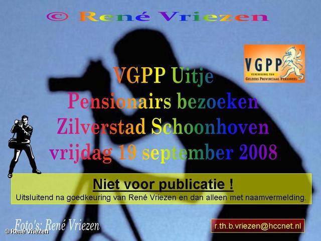 © René Vriezen 2008-09-19 #0000 VGPP Uitje Pensionairs Zilverstad Schoonhoven vrijdag 19-09-2008