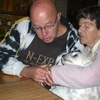 Ma en Ron en Cindy 21-09-08 6 - In huis 2008