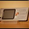 DSC 8149-border - Sony Ericson W880i -silver-