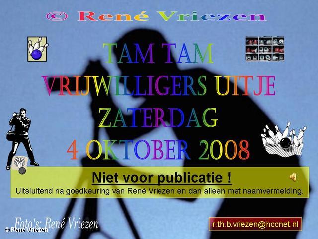 © René Vriezen 2008-10-04 #0000 Tam Tam vrijwilligers uitje Bowlen zaterdag 4 oktober 2008