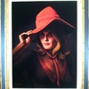 Lady In A Red Hat - Woman In A Red Hat Painting
