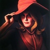Woman In A Red Hat (Oil on ... - Woman In A Red Hat Painting