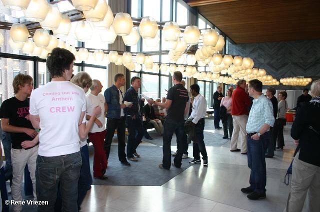 © René Vriezen 2008-10-11 #0004 Coming Out Day. Kom er voor uit dag. Stadhuis Arnhem zaterdag 11-10-2008