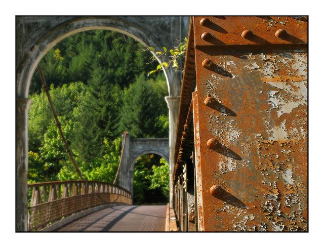 Alexandra Bridge Abandoned