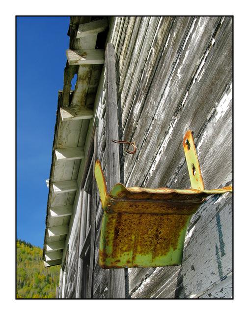 Hose Hanger Abandoned