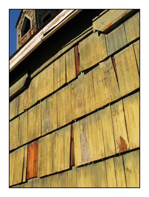 Spences Bridge Church detail British Columbia Canada