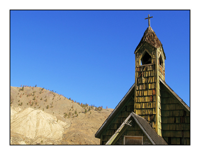 Spences Bridge Church British Columbia Canada