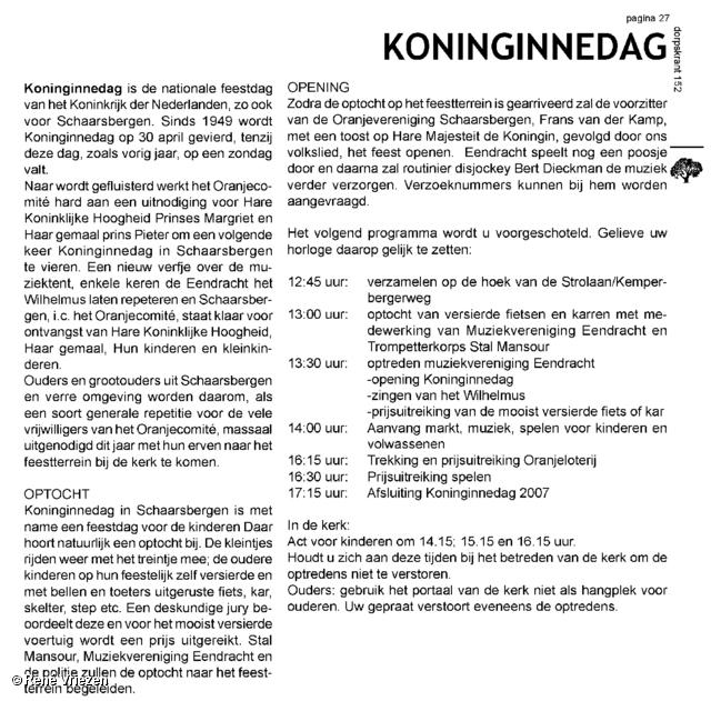 René Vriezen 2007-04-30 #0000 1 Koninginnedag Schaarsbergen Arnhem 2007