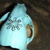 painted blue skull - Fotograffi