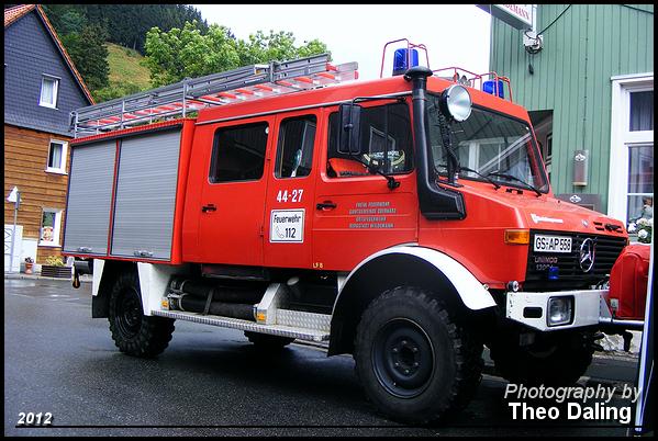 OrtsFeuerwerh Bergstadt Wildemann - Wildemann  GS  Brandweer
