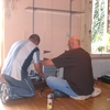 Ron en Ruud audiowand 24-10... - In huis 2008