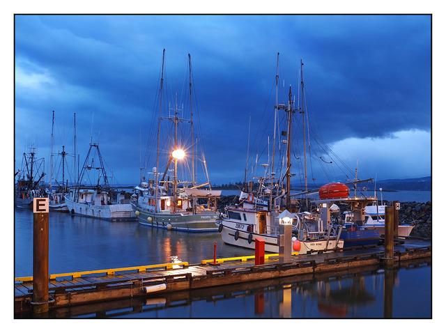 Comox Docks Morning 02 Comox Valley