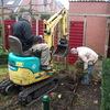 Tuin - afgraven achtertuin ... - Afgraven achtertuin 13-11-12