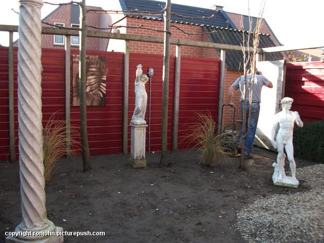 Tuin - afmaken achtertuin 14-11-12 (18) Afgraven achtertuin 13-11-12