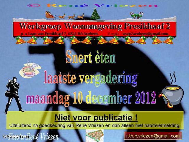 R.Th.B.Vriezen 2012 12 10 0000 WWP2 Snert èten en laatste vergadering maandag 10 december 2012
