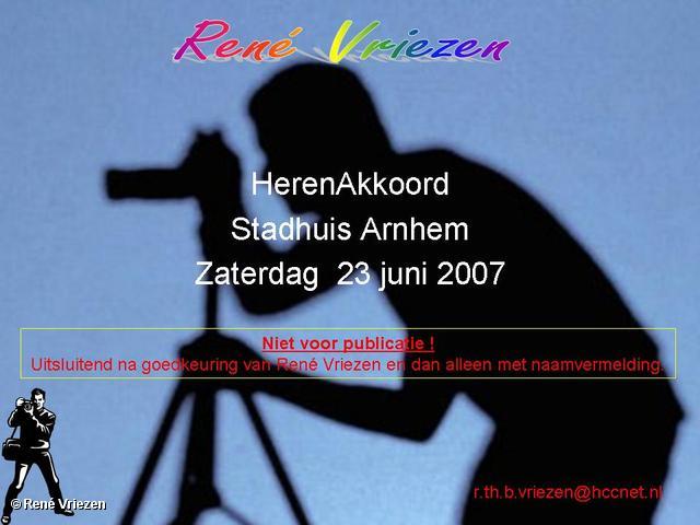 René Vriezen 2007-06-23 #0000 HerenAkkoord Stadhuis Arnhem 23-06-2007