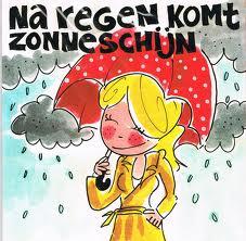 Moeite met de maand december en vroegkinderlijk trauma door Onthecht Na-regen-komt-zonneschijn-blond