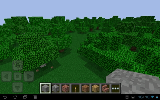 minecraft pe 0.6.1 flat land download