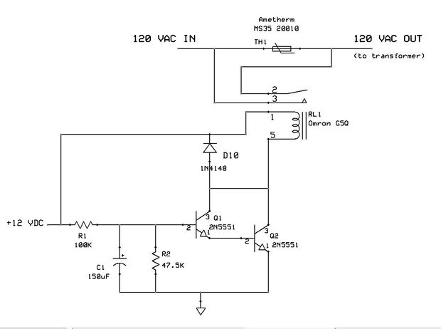 Relay controlled PSU thermistor Badcaps Forums