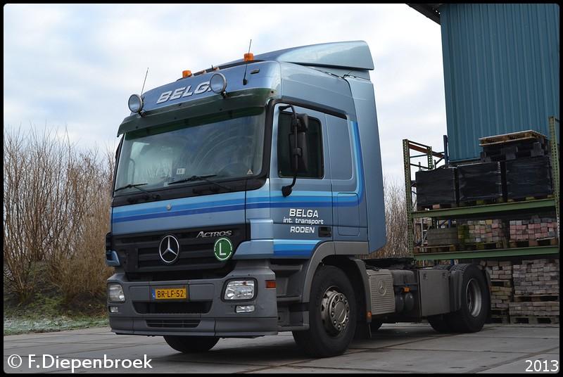 BR-LF-52 Mercedes Actros Mp2 Belga Roden-BorderMak - 27-12-2012