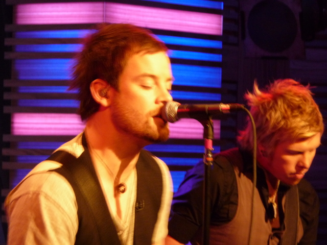 DCRK10029 David Cook at Regis &Kelly 11/19/2008