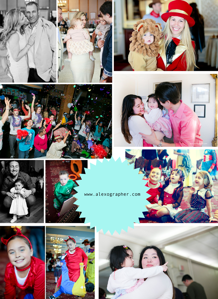 Event collage -