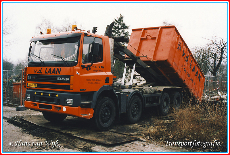 BB-ZL-75  B-border - Container Kippers