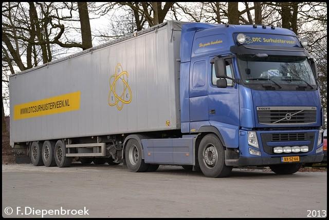 BX-SZ-66 Volvo FH DTC Surhuisterveen2-BorderMaker 2013