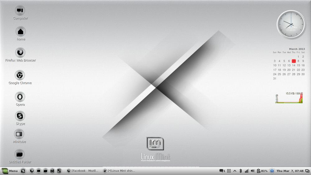 Linux-Mint-14-Cinnamon- -