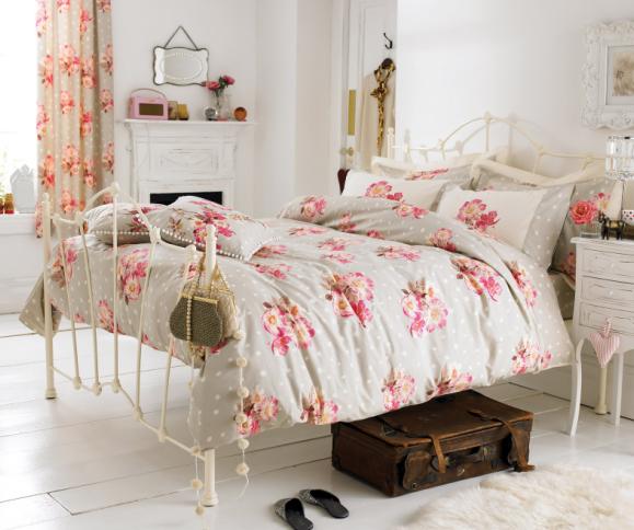 inspiratie slaapkamers met bloemmotieven, Meubels Ideeën