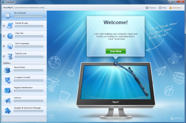 CleanMyPC 1.5.8 SilenT -Bộ tiện ích làm sạch toàn diện máy tính ...