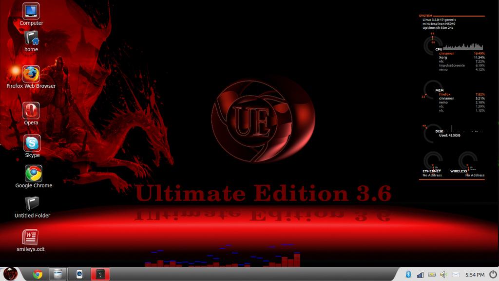 Ultimate Edition 3.6 Cinnamon -