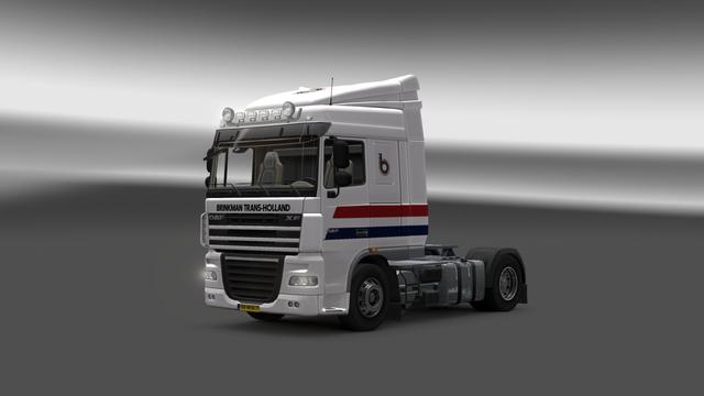 ets2 Daf XF105 Brinkman 2 ets2 Truck's