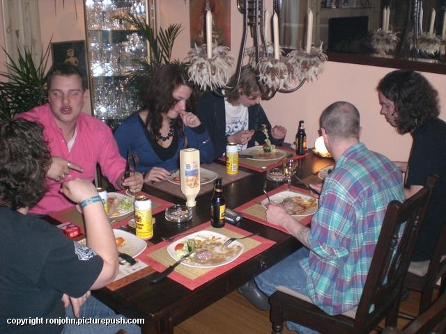 Etentje 13-12-08 1 In huis 2008