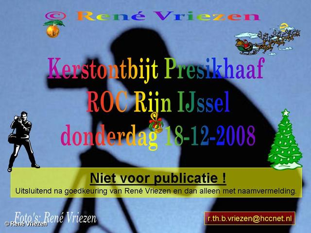 © René Vriezen 2008-12-18 #0000 Kerstontbijt Presikhaaf donderdag 18 december 2008