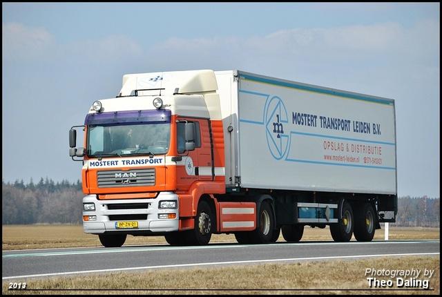 Mostert Transport - Leiden  BP-ZN-21 MAN