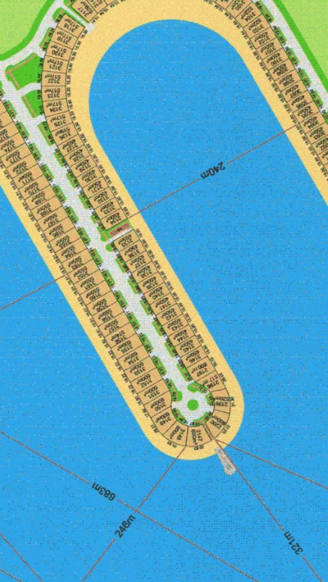 ارض على البحر في مدينة صباح الاحمد البحرية