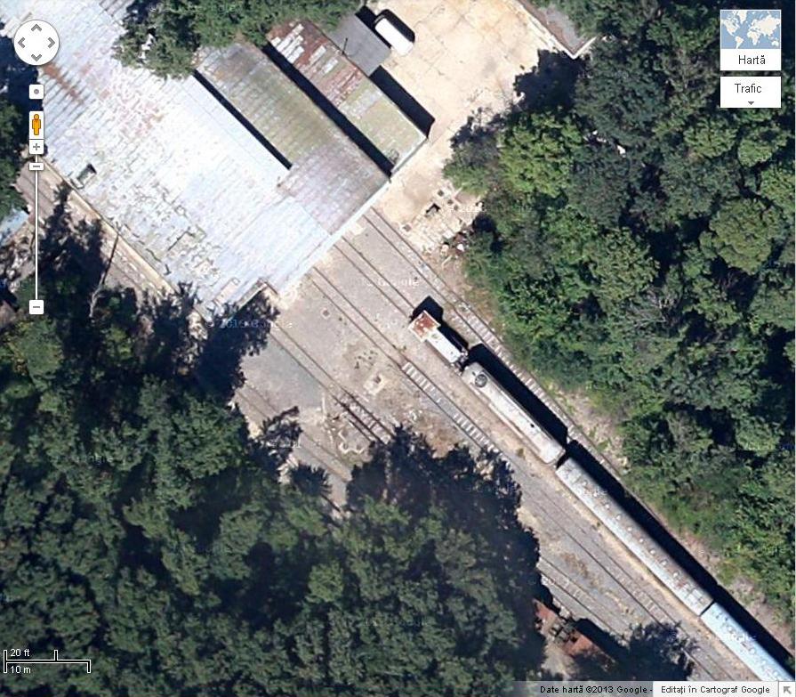 Trenuri/Gări pe Google Earth/maps 12666044