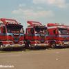 rijtje streamers - truck pics