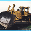 CAT D8N  A-border - Kranen