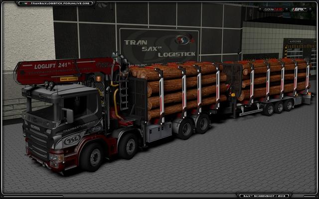 TSL™ Company 8x4 Full TSL™ HOLZ Transport
