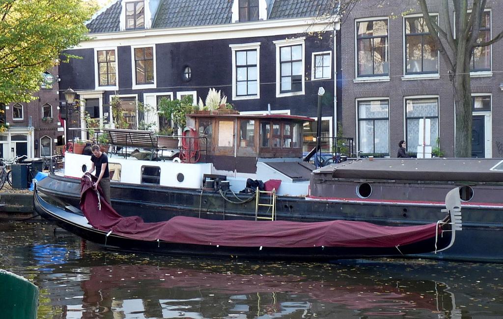 gondel - Amsterdam winter
