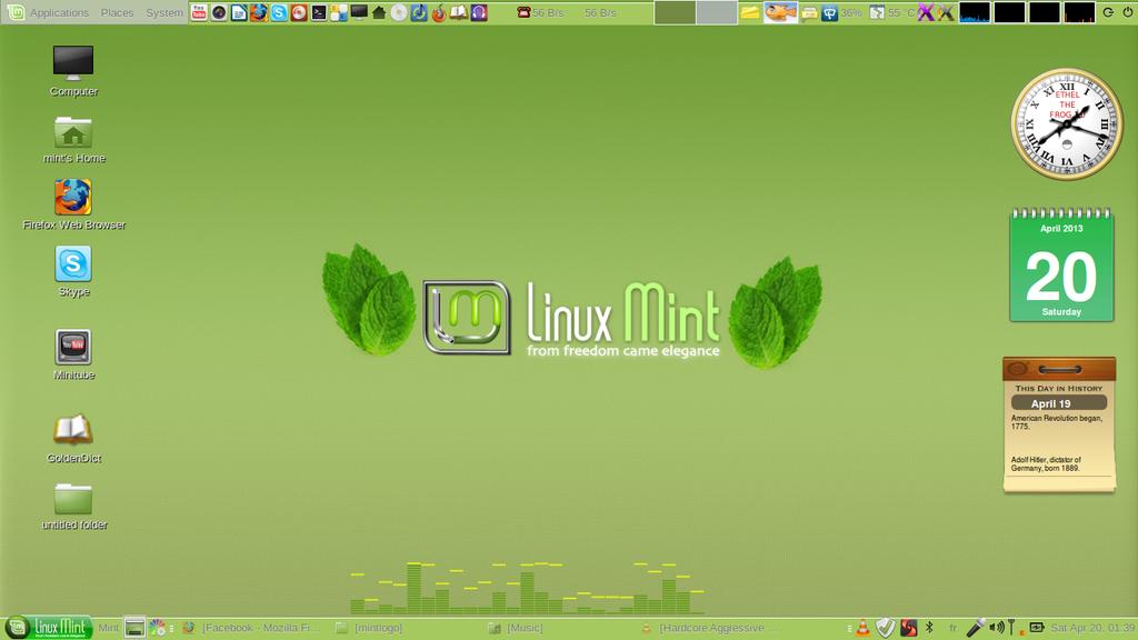 Linux Mint 14 -