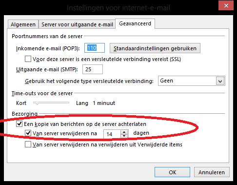 Office 365, Outlook mails uit webmail verwijderen ...