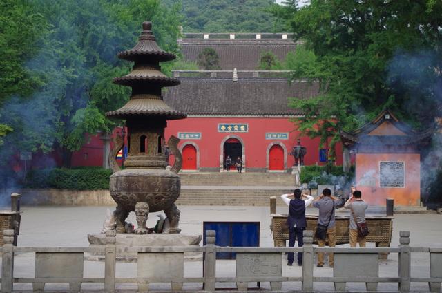 Nanjing: de tempels