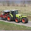 Claas Ares 697 ATZ-border - Kippers Speciaal & Tractors